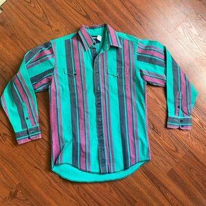 Wrangler Button Front Shirt 16-33 X long